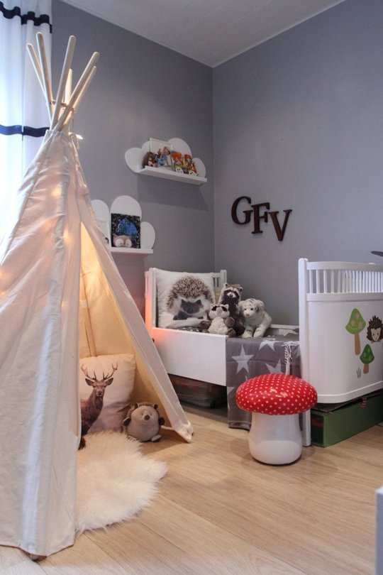 Ideas de decoraci n las 10 habitaciones para ni os mejor for Room decor for 6 year old boy