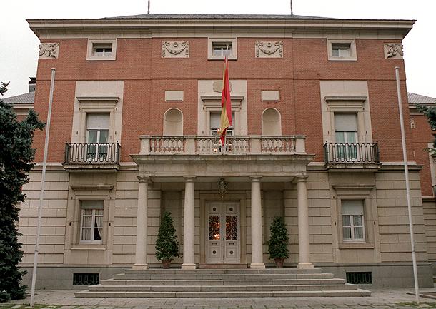 fachada de La Moncloa