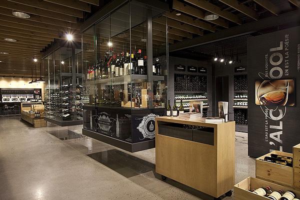 Las 12 tiendas de vino m s bonitas del mundo fotos - Diseno de vinotecas ...
