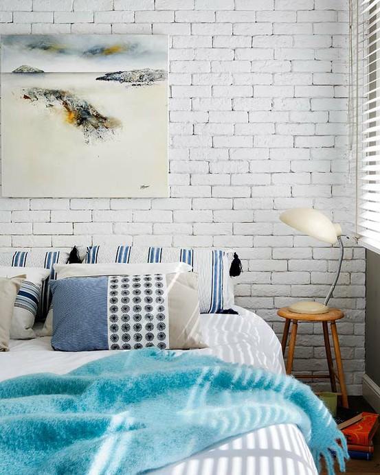 Ideas de decoraci n paredes de ladrillo visto para darle for Decoracion para pared de ladrillos