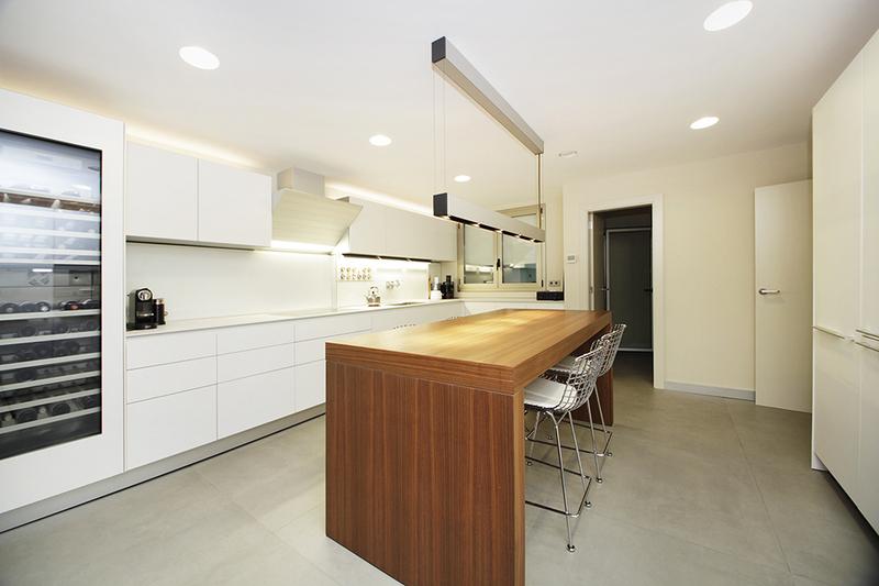 Cocina bulthaup en piso en venta en Barcelona