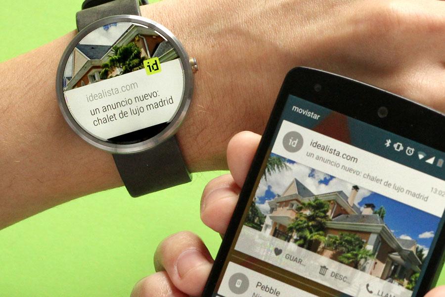 idealista lanza la primera app inmobiliaria para buscar piso en tu smart watch