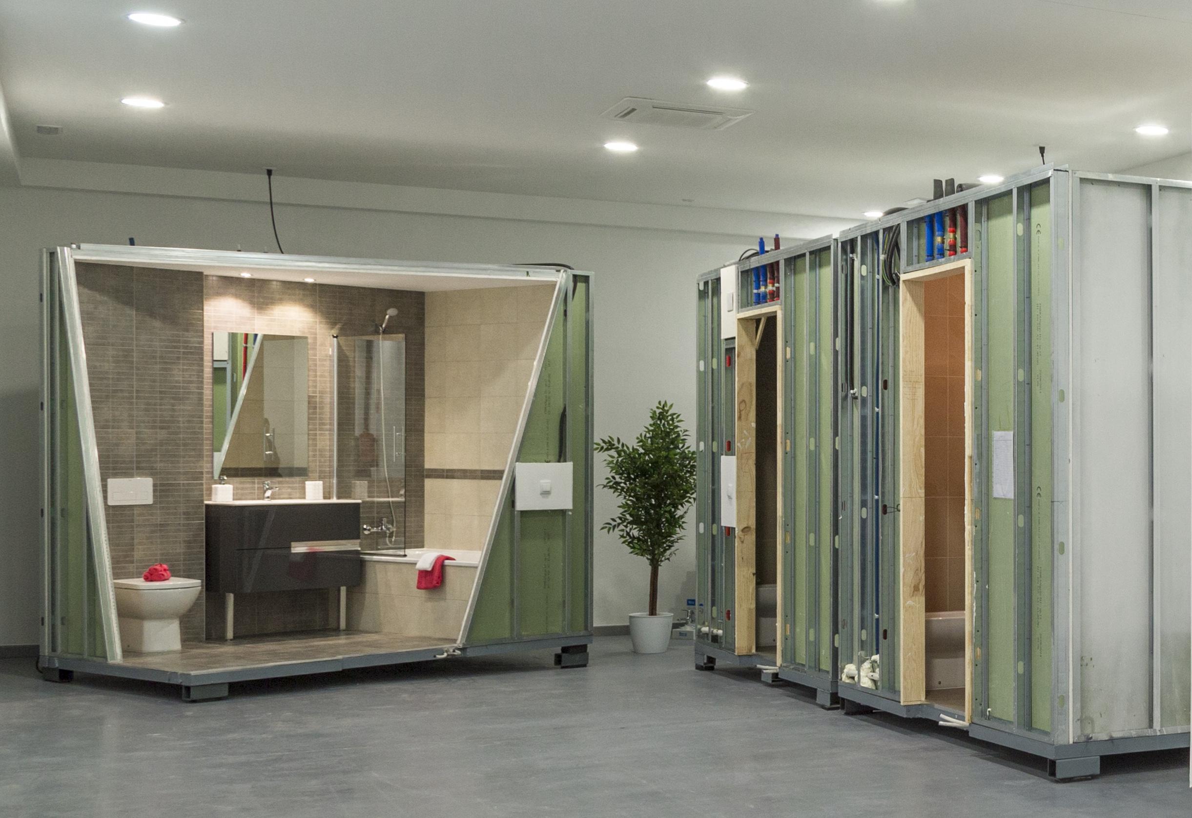 baños industrializados