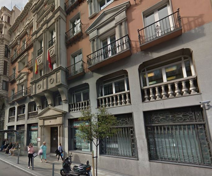 edificio en Gran vía 14 (google streetview)
