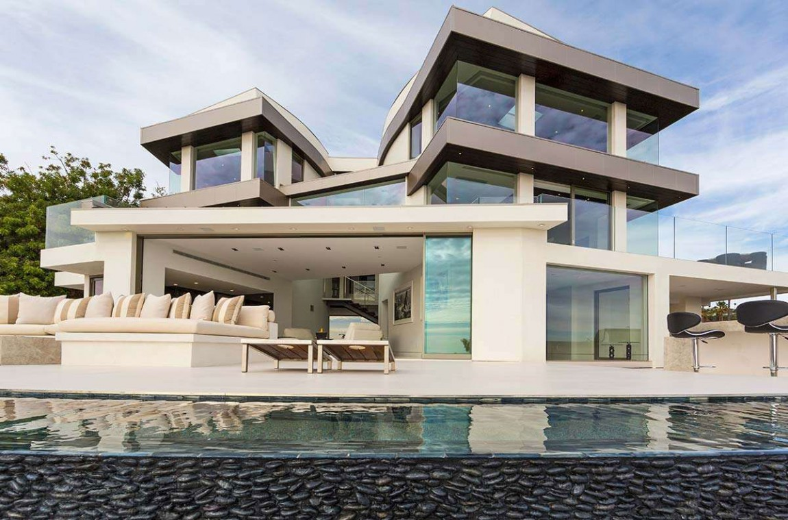 Casas de ensueño: una mega-mansión con la ciudad de Los Ángeles a sus pies (fotos)