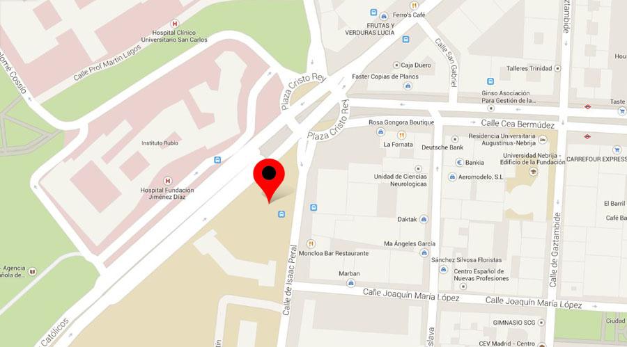 plano de la ubicación. autor: luis manzano