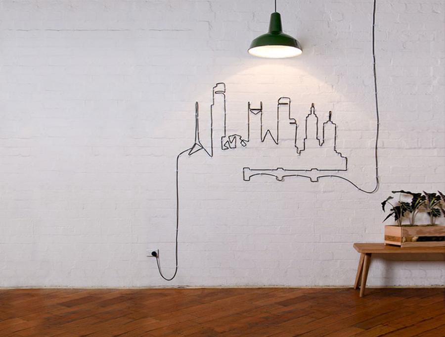ideas de decoracin maneras ingeniosas de esconder los incmodos y cables elctricos