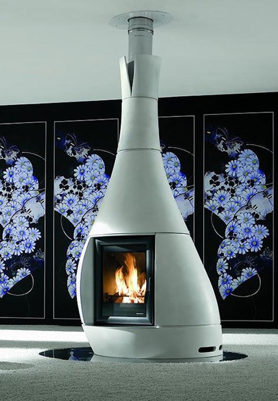 Ideas de decoraci n mobiliario para darle a tu casa un for Caminetti combinati legna pellet palazzetti