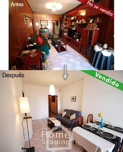 El antes y el después de una vivienda