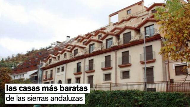 Casas hiperbaratas en las sierras de Andalucía