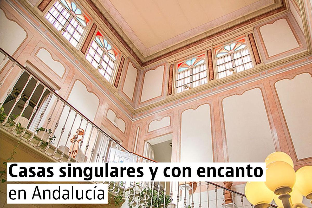Casas bonitas y singulares en Andalucía