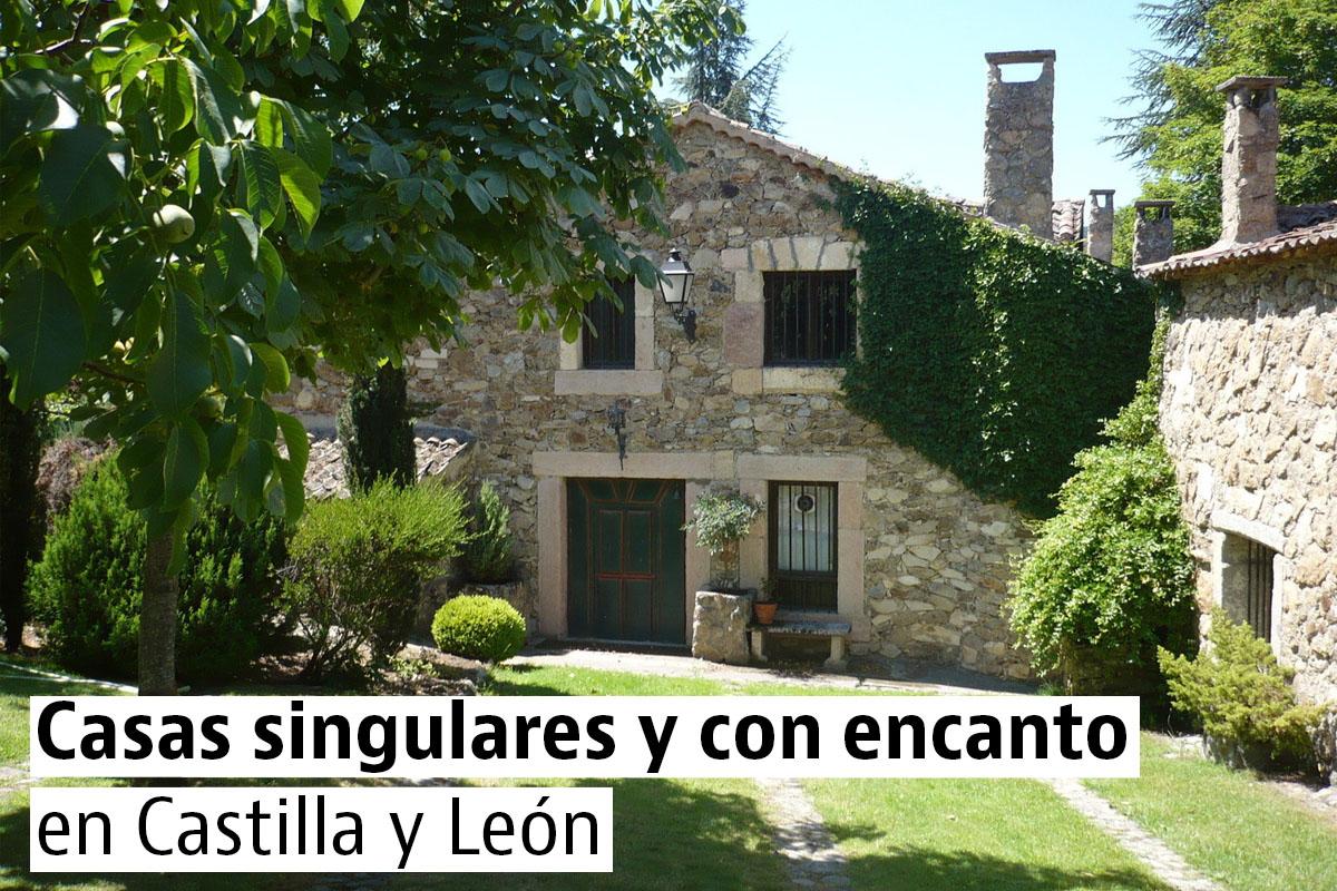 Las casas bonitas  y con encanto en Castilla y León
