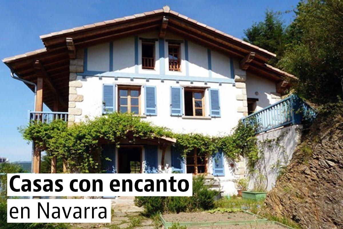 Casas bonitas y singulares en Navarra