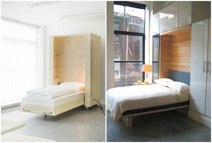 Ideas de decoración: camas ocultas, la mejor solución para ganar ...