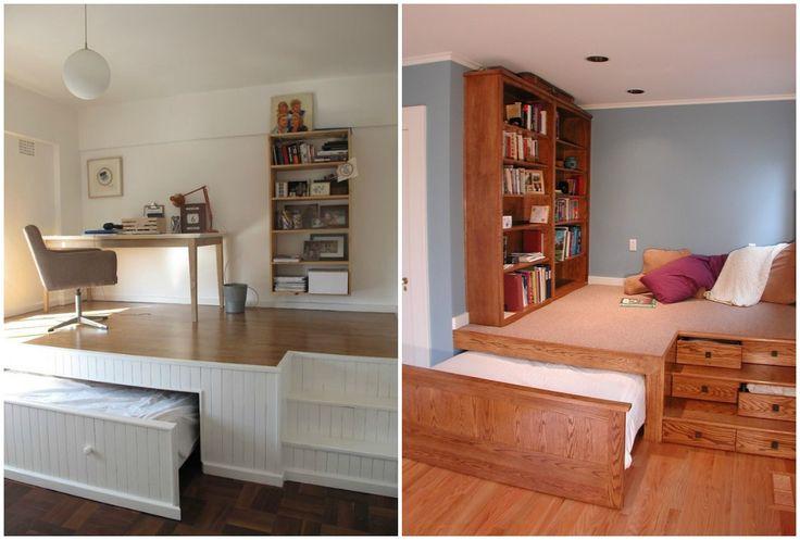 Ideas de decoraci n camas ocultas la mejor soluci n para for Ideas muebles para poco espacio