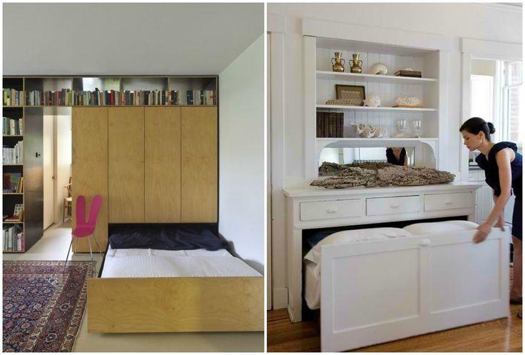 Ideas de decoraci n camas ocultas la mejor soluci n para for Camas ocultas en muebles