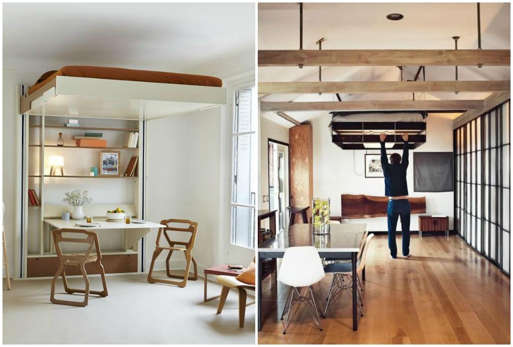 ideas de decoracin camas ocultas la mejor solucin para ganar espacio en los pisos pequeos u