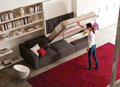Ideas de decoraci n camas ocultas la mejor soluci n para - Camas para espacios pequenos ...