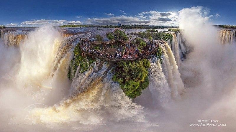 Cataratas de Iguazu. Autor: AirPano