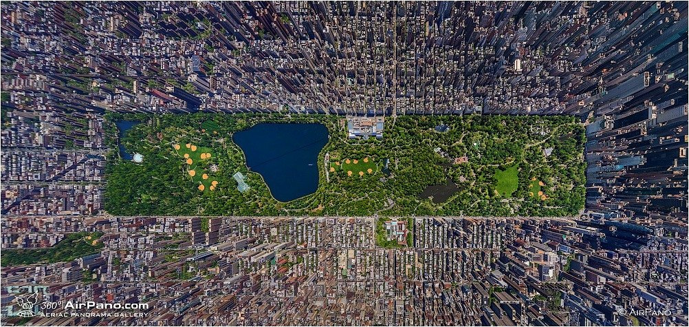 Central Park, Nueva York. Autor: AirPano