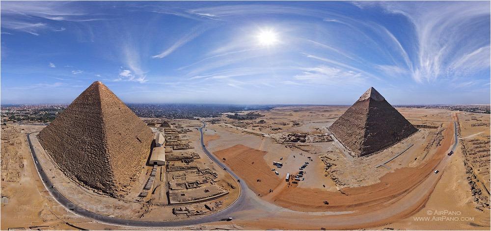 Las pirámides de Egipto. Autor: AirPano