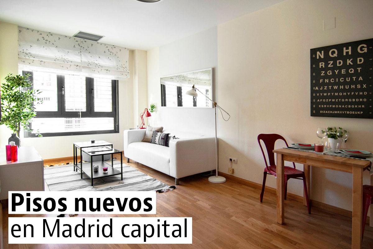 Los pisos nuevos m s baratos de madrid capital idealista for Pisos com madrid