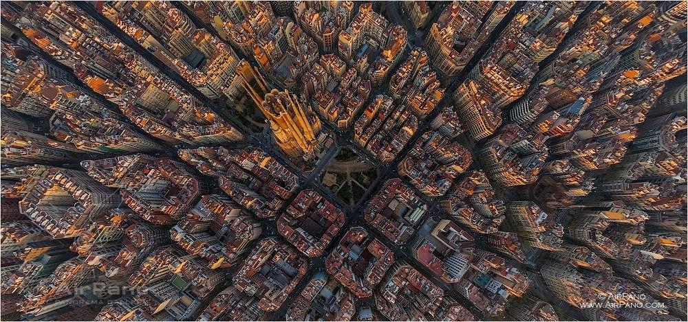 Sagrada Familia. Autor: AirPano