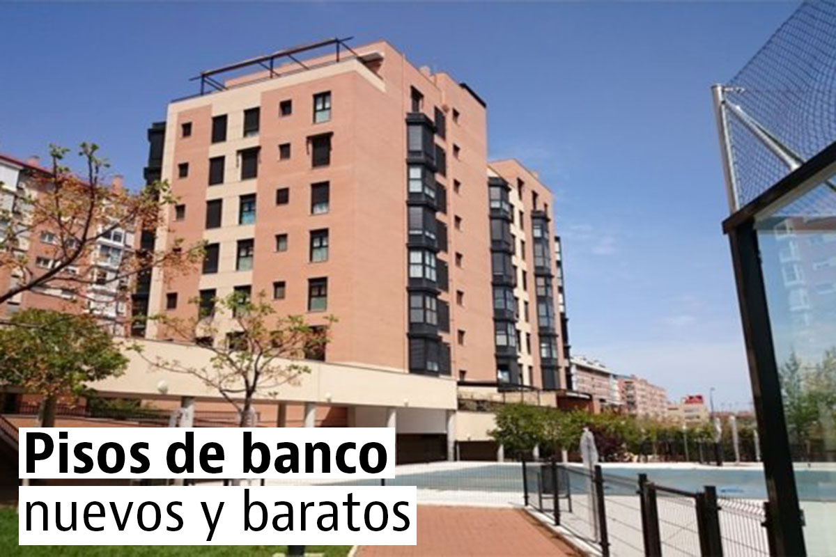 Los pisos nuevos de banco más baratos de Madrid (tabla)