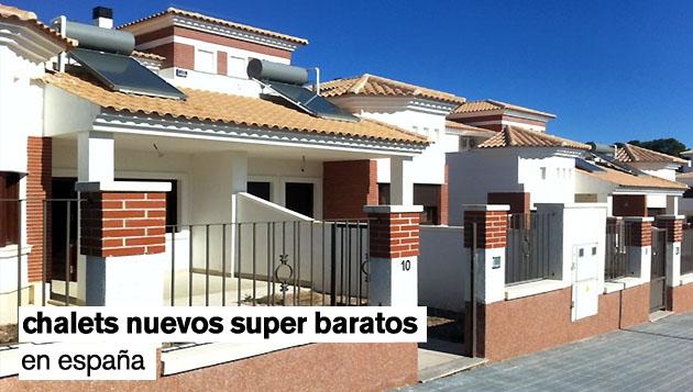 Los 20 chalets nuevos más baratos de España