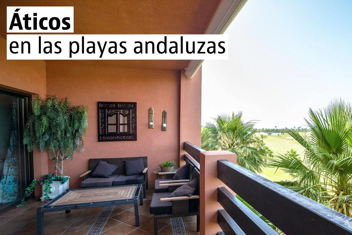Los 10 áticos nuevos de playa más baratos de Andalucía