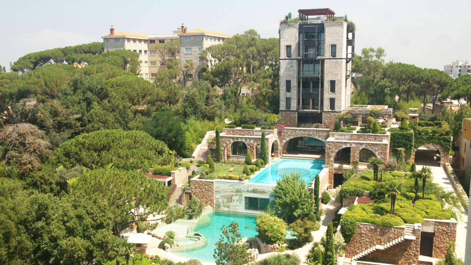 Hoteles con encanto la suite m s grande del mundo tiene seis plantas m2 y piscina - Hoteles con encanto y piscina ...