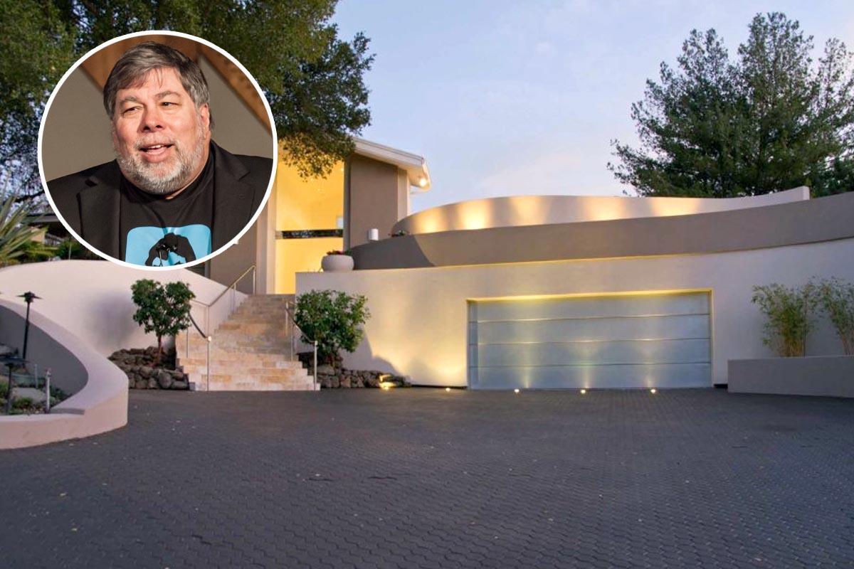 Steve Wozniak, el cofundador de Apple, vende (por fin) la mansión que él mismo diseñó en 1986