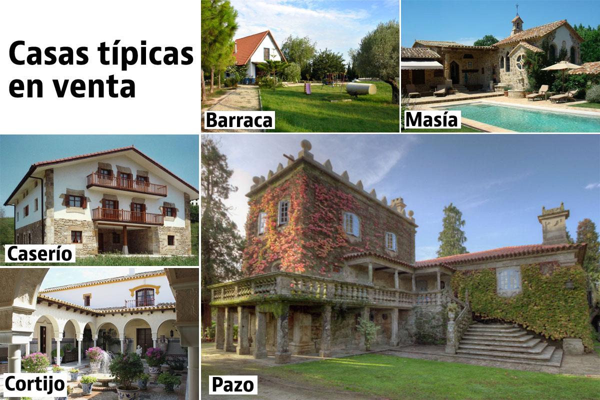 Casas t picas de espa a idealista news - Distintos tipos de casas ...