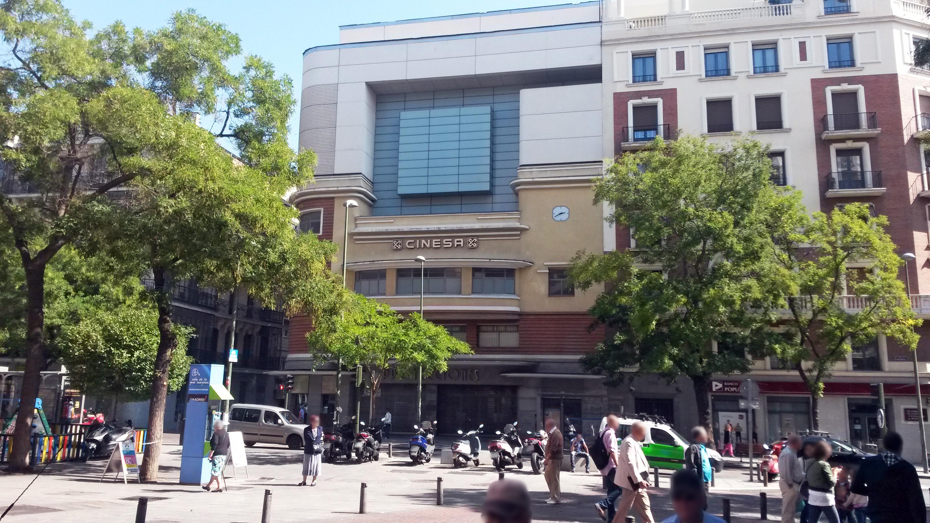 Edificio de los Cines Proyecciones