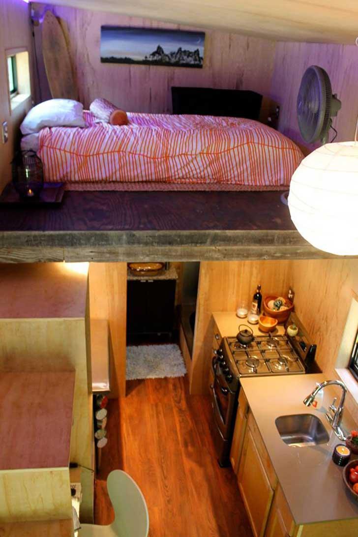 El estudiante que se construy su propio mini piso para - Decoracion piso de estudiantes ...