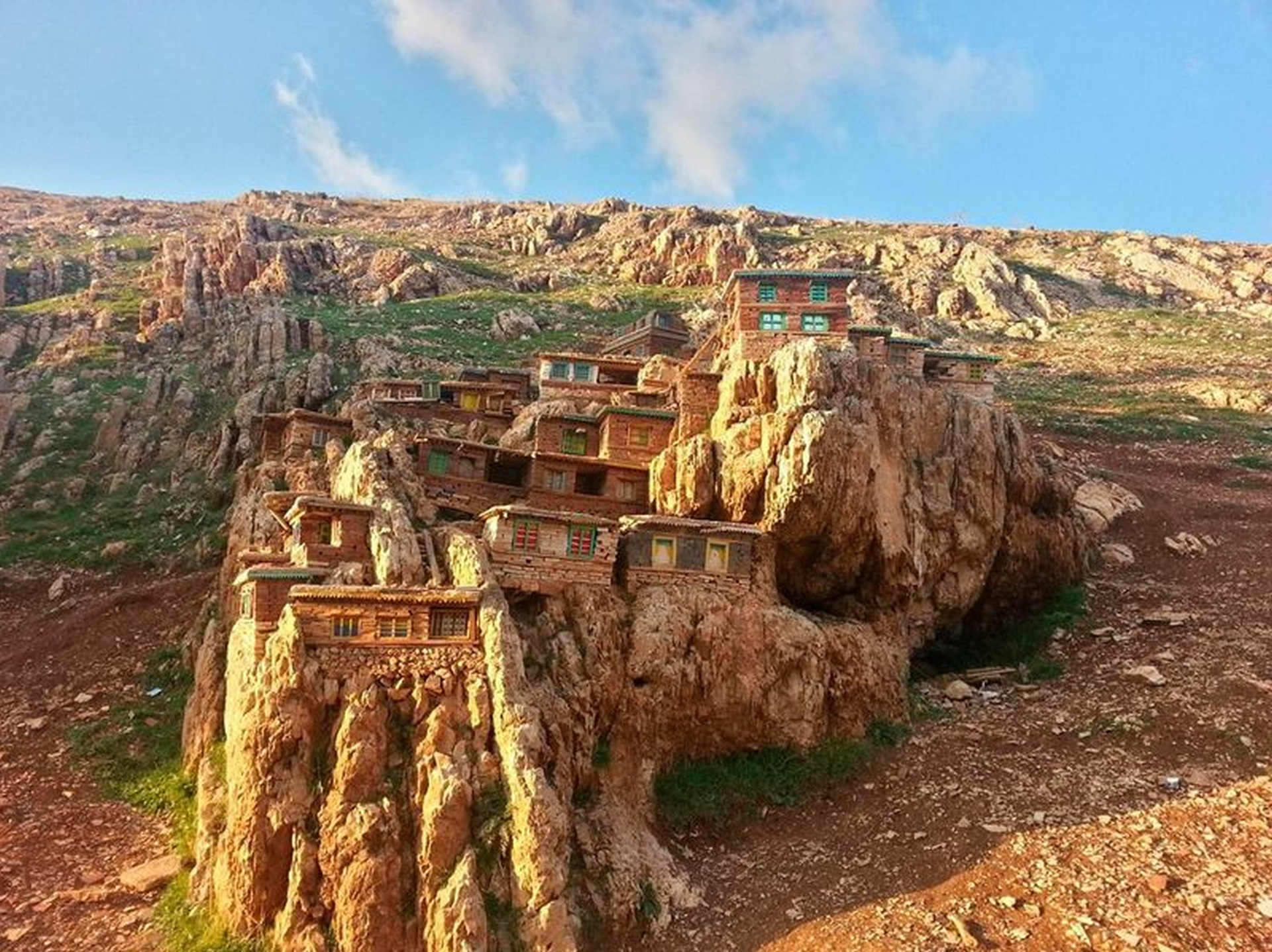 Casas de roca (China)