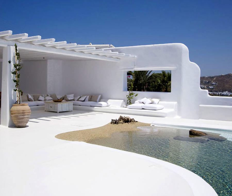 Piscinas de arena o c mo disfrutar de la playa sin salir for Paisajismo para piscinas