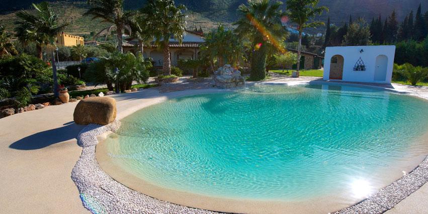 Piscinas de arena o c mo disfrutar de la playa sin salir for Casa con piscina tenerife