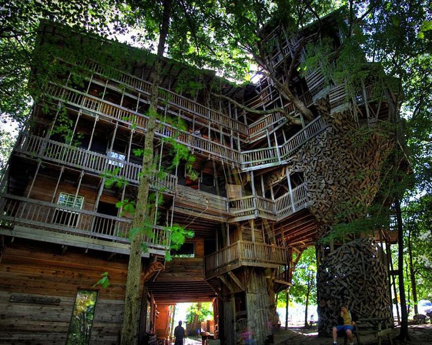 Casa Árbol en EEUU