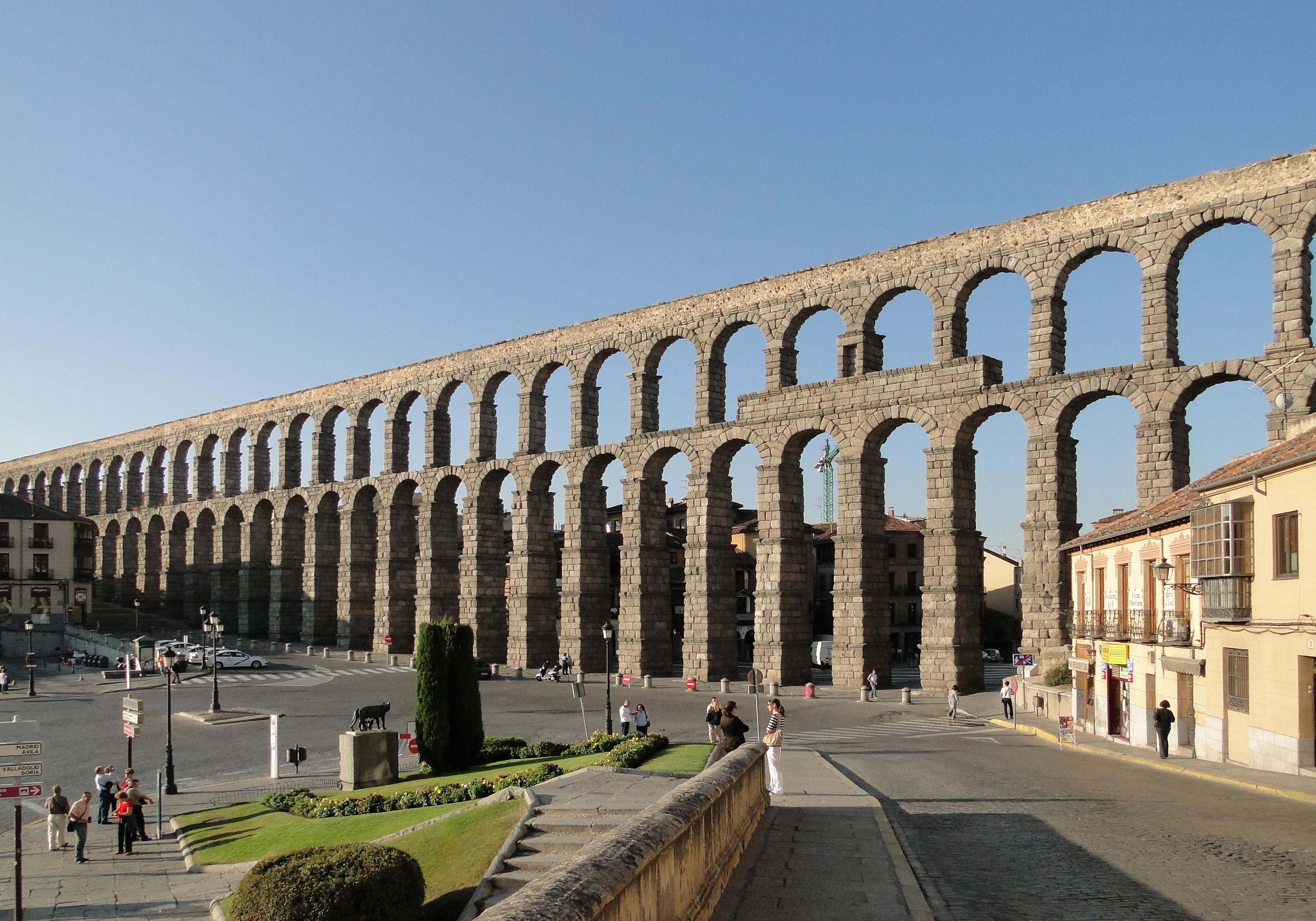 Acueducto de Segovia. B Gagnon