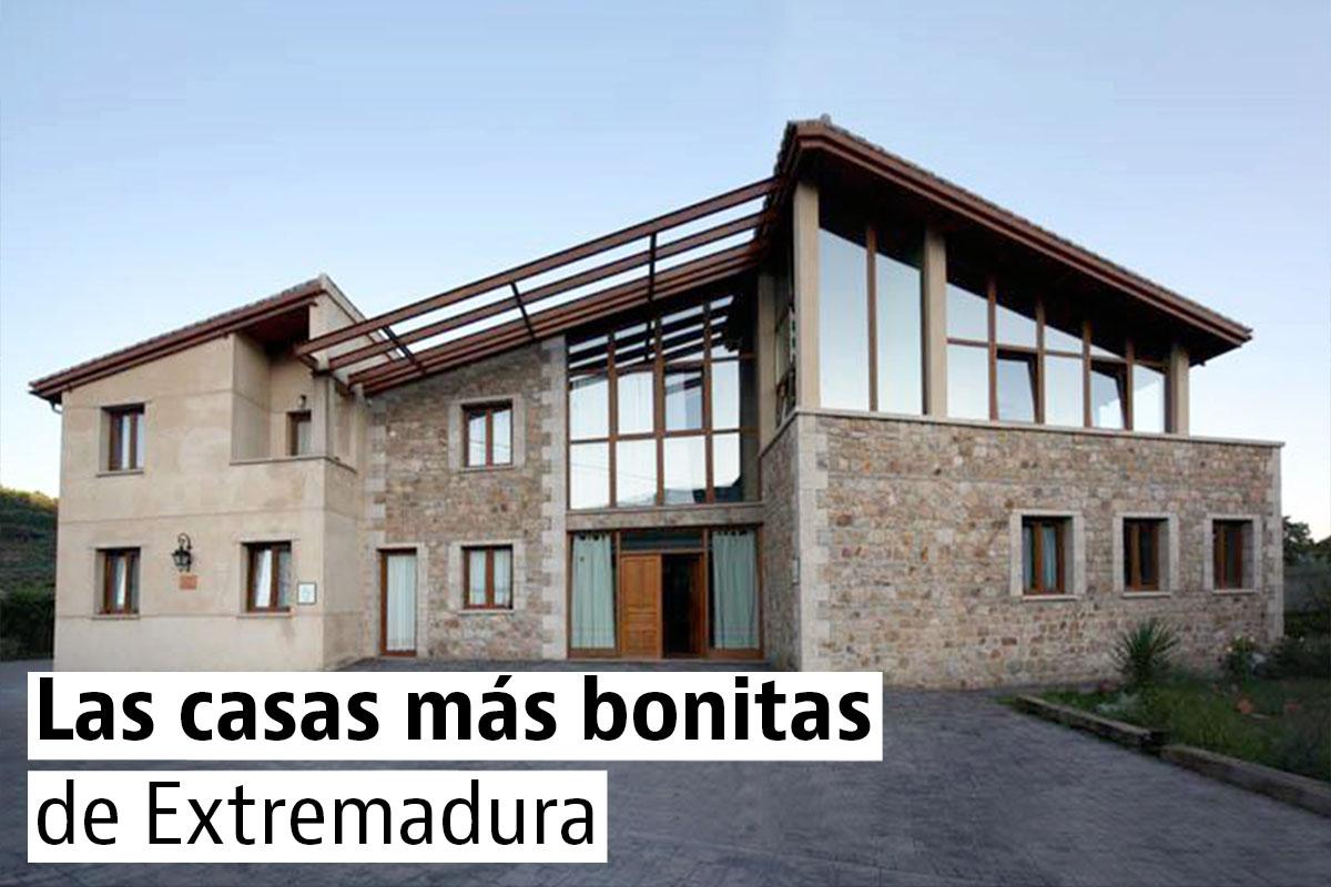 Las casas más bonitas y singulares de Extremadura