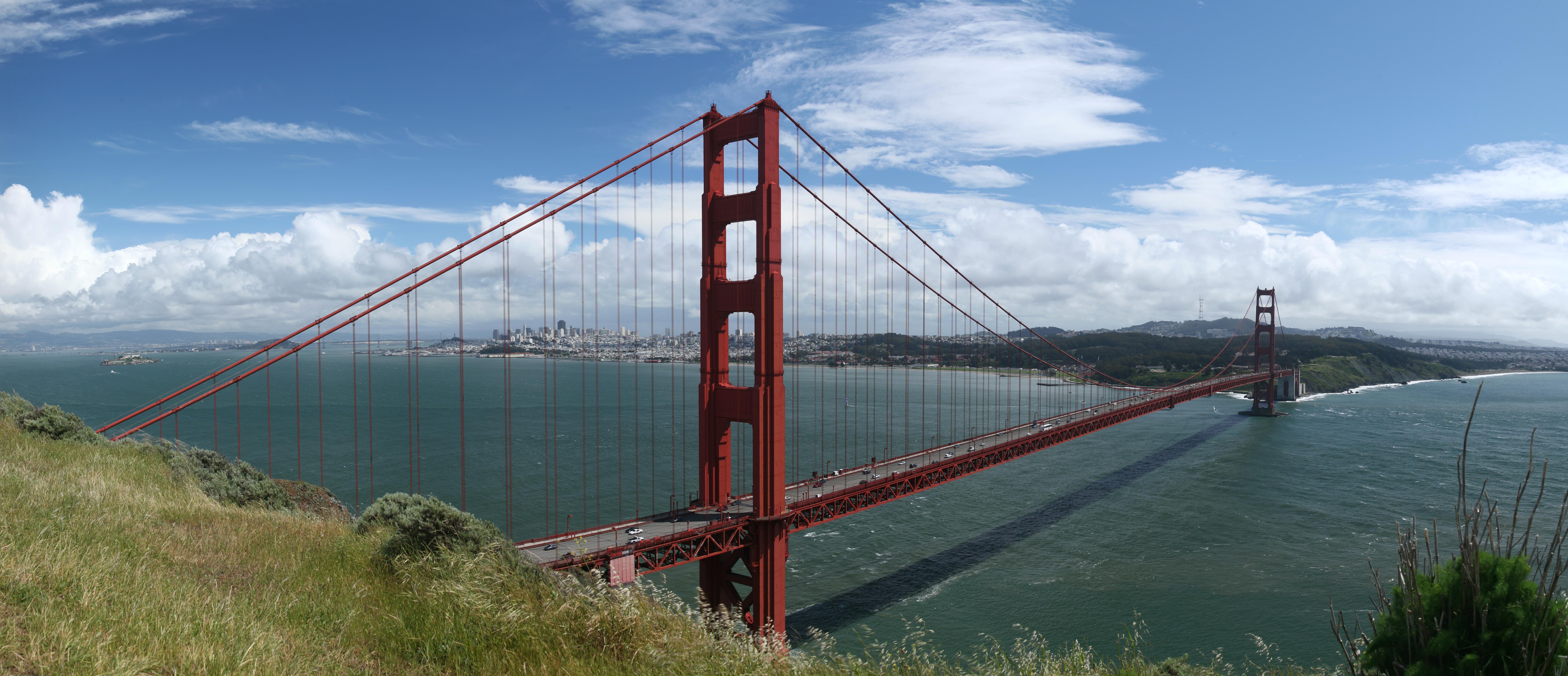 Puente de Golden Gate. D Schwen