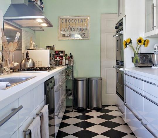 Cocinas pequeñas que parecen más grandes