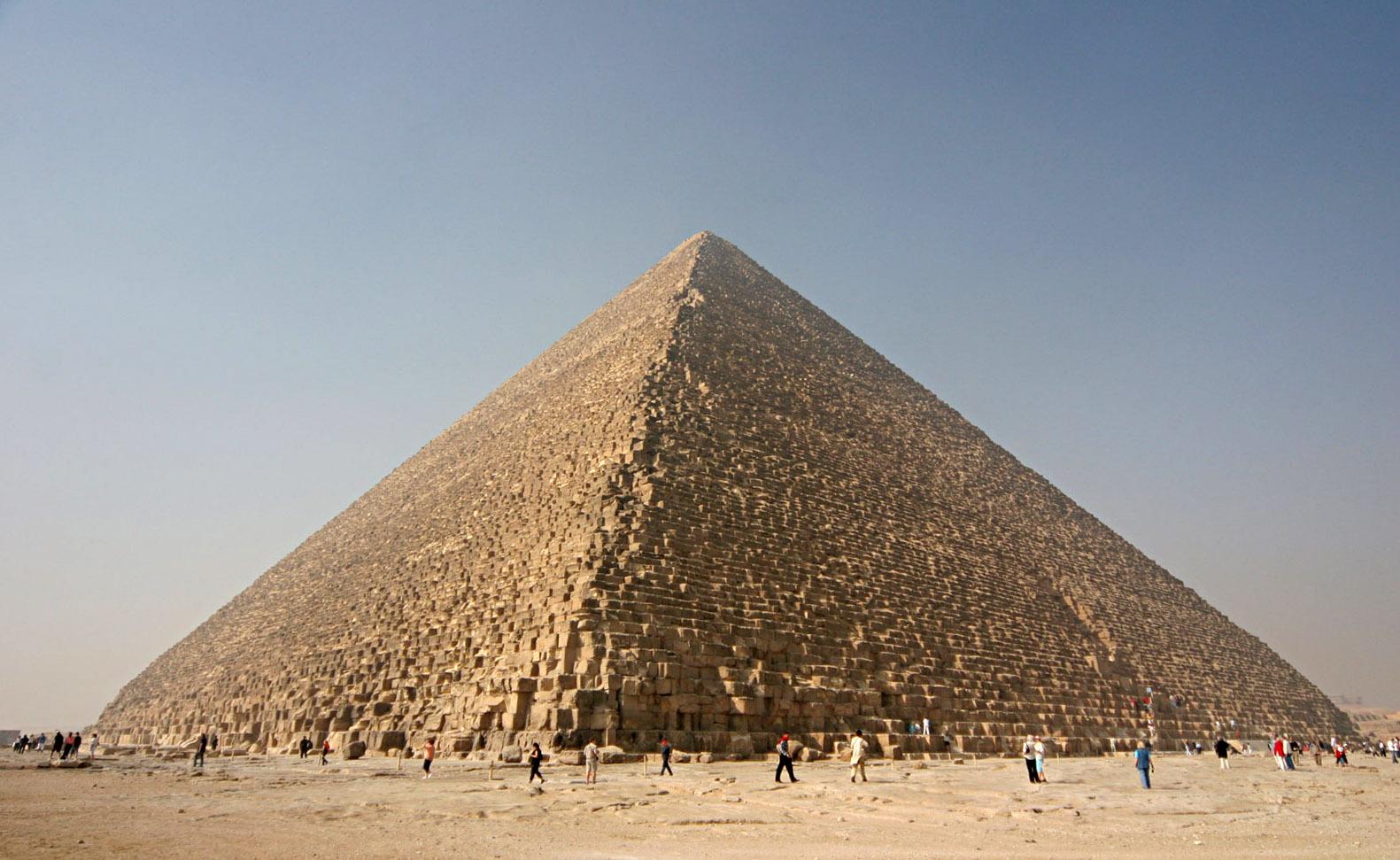 Gran pirámide de Guiza. Nina