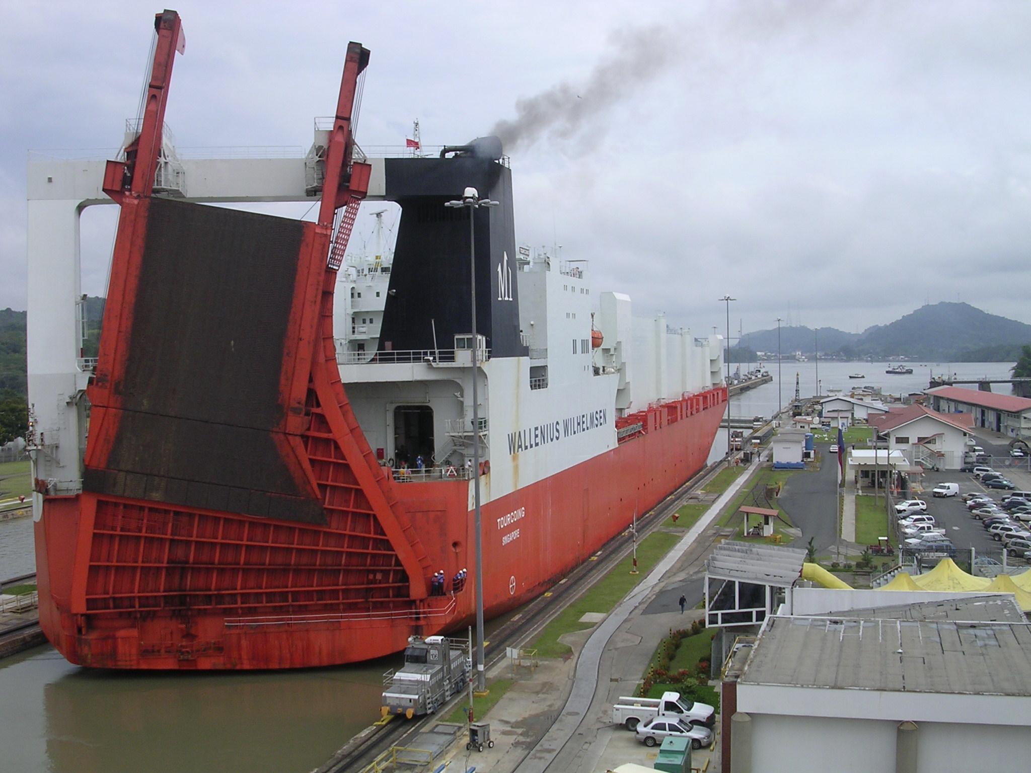 Canal de Panamá. Dozenist