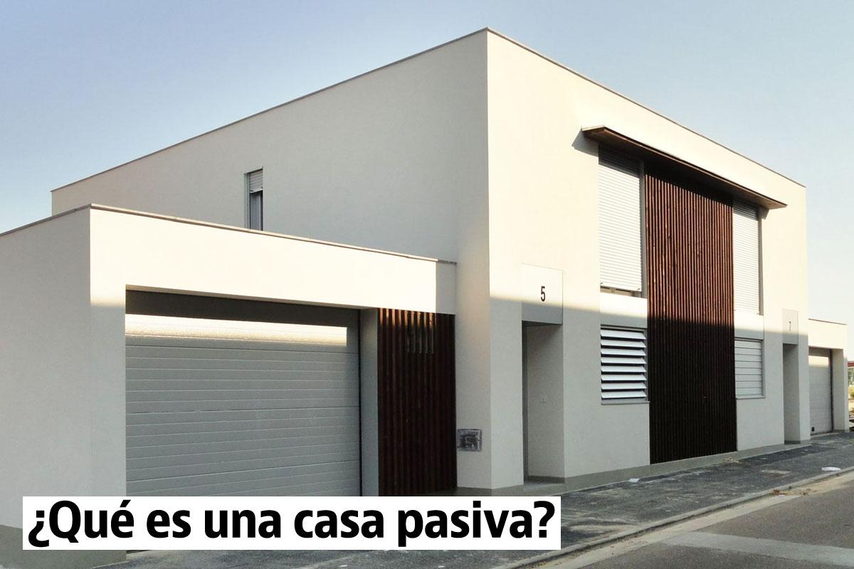 Casa pasiva en venta