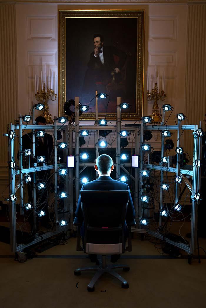 Foto: Pete Souza, el fotógrafo oficial de la Casa Blanca.