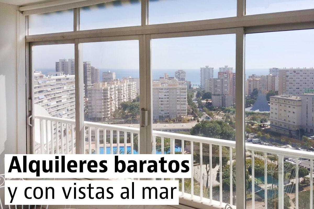 Apartamentos en alquiler baratos en la playa