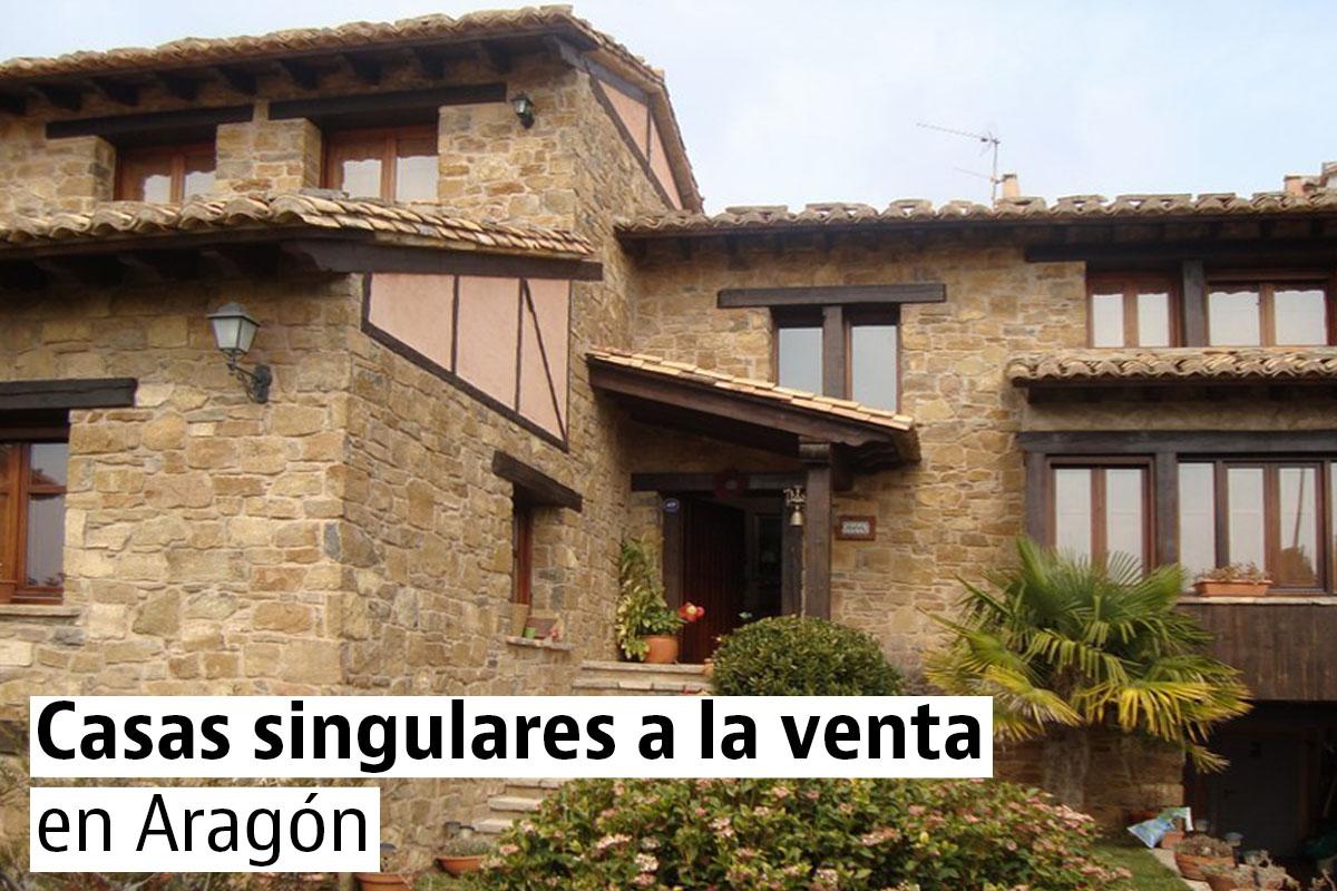 Las casas más bonitas y originales de Aragón: Zaragoza, Teruel y Huesca