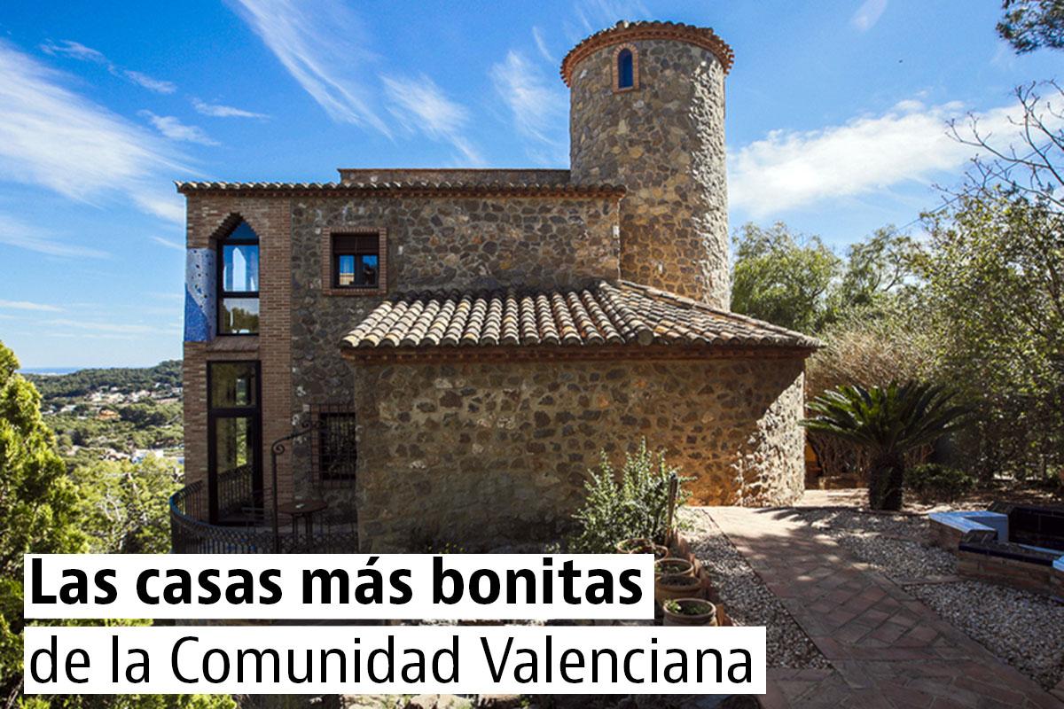 Casas singulares y bonitas en la Comunidad Valenciana